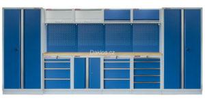 modrá dílenský nábytek daklos